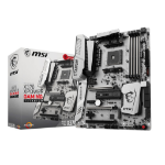 MSI X370 XPOWER GAMING TITANIUM AMD X370 Socket AM4 ATX motherboard