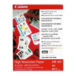 Canon High Resolution Paper HR-101(A3, 20 Sheets) White printing paper