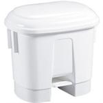 FSMISC 30 LITRE WHITE PLASTIC BIN 348020 0