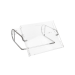 R-Go Tools Steel Document Monitor Stand, document holder, silver