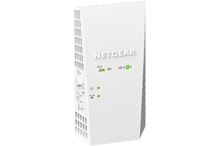 Netgear EX6250 Network repeater 10,100,1000 Mbit/s White