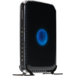 Netgear WNDR3400 Dual-band (2.4 GHz / 5 GHz) Fast Ethernet Black wireless router