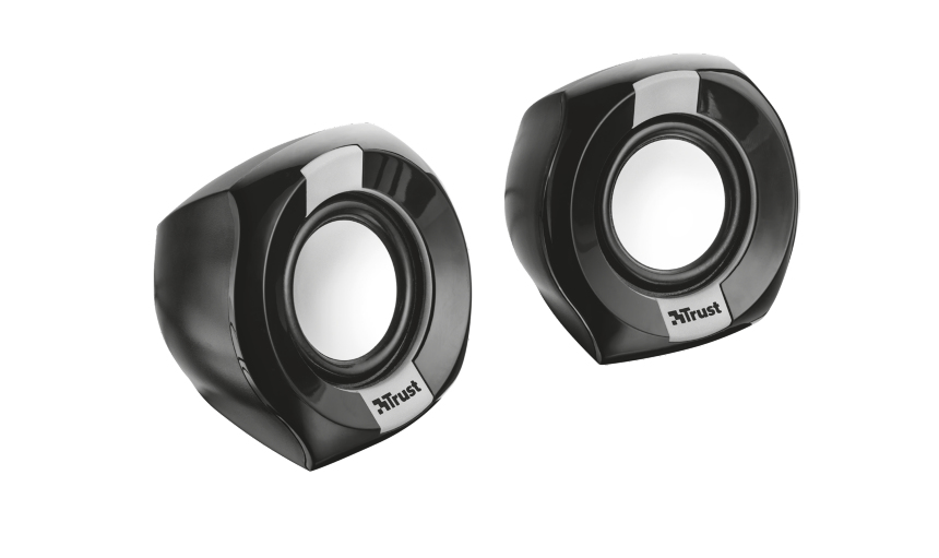 Trust Polo Compact 2.0 loudspeaker 8 W Black Wired