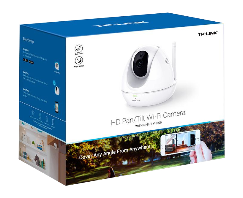 TP-LINK NC450 IP security camera Indoor Spherical White 1280 x 720pixels