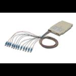 Digitus A-96533-02-UPC-4 fibre optic adapter LC Multicolour