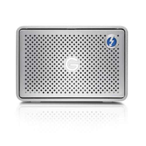 G-Technology 8 TB G-Raid Storage Unit with 2 Discs, 2 Thunderbolt and 1 USB 3.0