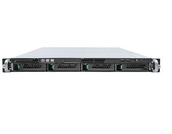 Intel R1304BB4DC Intel C602 LGA 1356 (Socket B2) 1U Aluminium, Black server barebone