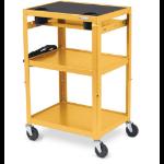 Bretford MIC Cart Yellow 34 lbs (15.4 kg)
