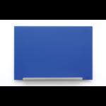 Nobo Diamond Glass Board Magnetic Blue 993x559mm