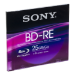 Sony 25gb rewritable single         supl