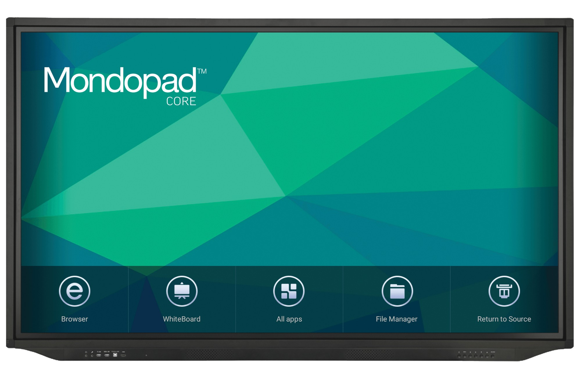 """Infocus 65"""" INF65MC01 65"""" 4K Android Education Interactive Touchscreen"""