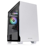 Thermaltake S100 Tempered Glass Snow Edition Micro Tower White