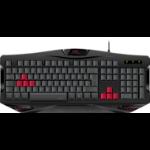 SPEEDLINK IOVIA keyboard USB UK English Black, Red