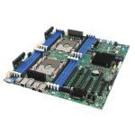 Intel S2600STBR server/workstation motherboard Intel® C624