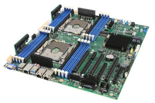 Intel S2600STBR motherboard Intel® C624 SSI EEB