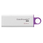 Kingston Technology DataTraveler G4 USB flash drive 64 GB USB Type-A 3.2 Gen 1 (3.1 Gen 1) Violet,White