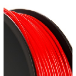VERBATIM AMERICAS LL PLA 3D FILAMENT 3MM 1KG REEL RED
