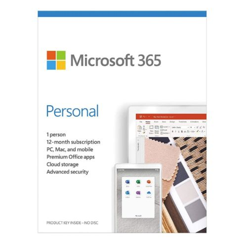 MS 365 PERSONAL ENGLISH EUROZON SUBSCR 1YR MEDIALESS P6          EN
