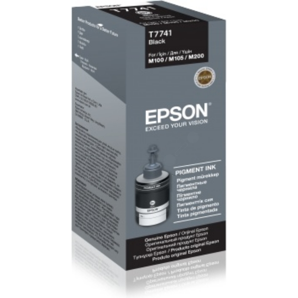 Epson C13T774140 (T7741) Ink cartridge black, 6K pages, 140ml
