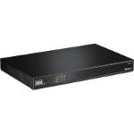 Trendnet TPE-1016L network switch Unmanaged Fast Ethernet (10/100) Black Power over Ethernet (PoE)