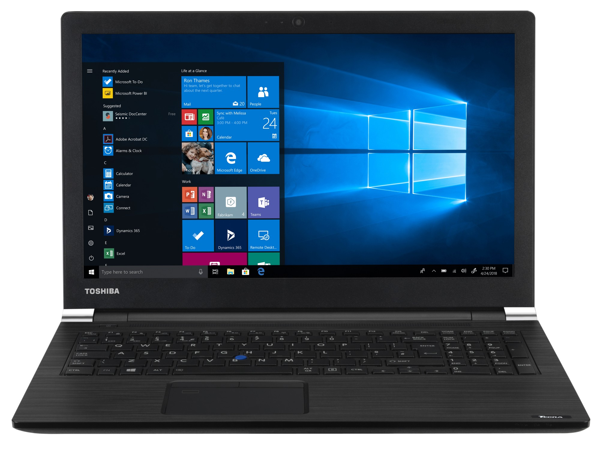 "Toshiba dynabook Tecra A50-EC-11H Grafiet Notebook 39,6 cm (15.6"") 1920 x 1080 Pixels Intel® 8ste generatie Core™ i5 8 GB DDR4-SDRAM 256 GB SSD Windows 10 Pro"