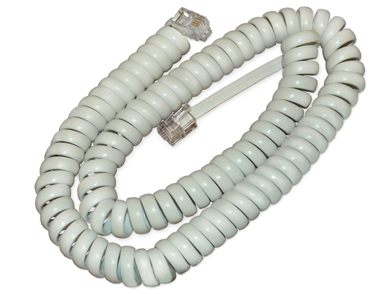 Cisco CP-HS-CORD-W= telephony cable White