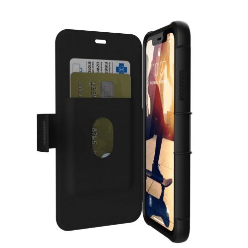 "Urban Armor Gear Metropolis mobile phone case 15.5 cm (6.1"") Folio Black"