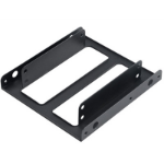 """Akasa Mounting adapter allows a 2.5"""" SSD or HDD to fit into a 3.5"""" PC drive bay."""