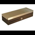 APG Cash Drawer MFS437A-BL460 caja para dinero en efectivo Negro