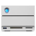 LaCie 2big Dock Thunderbolt 3 12TB 12000GB Desktop Silver disk array STGB12000400
