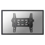 "Newstar LED-W220 40"" Black flat panel wall mount"