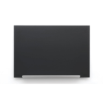 Nobo Diamond Glass Board Magnetic Black 1264x711mm DD