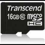 Transcend TS16GUSDC10 memory card 16 GB MicroSDHC Class 10