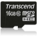 Transcend TS16GUSDC10 16GB MicroSDHC Class 10 memory card