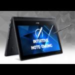 "Acer TravelMate Spin B3 TMB311RN-31-P1PD Hybrid (2-in-1) 29.5 cm (11.6"") 1920 x 1080 pixels Touchscreen Intel® Pentium® Silver 4 GB DDR4-SDRAM 128 GB SSD Wi-Fi 5 (802.11ac) Windows 10 Pro Education Black"
