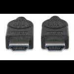 Manhattan 393751 2m HDMI HDMI Black HDMI cable
