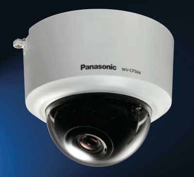 Super Dynamic 5 Fixed Dome Camera Wv-cf504