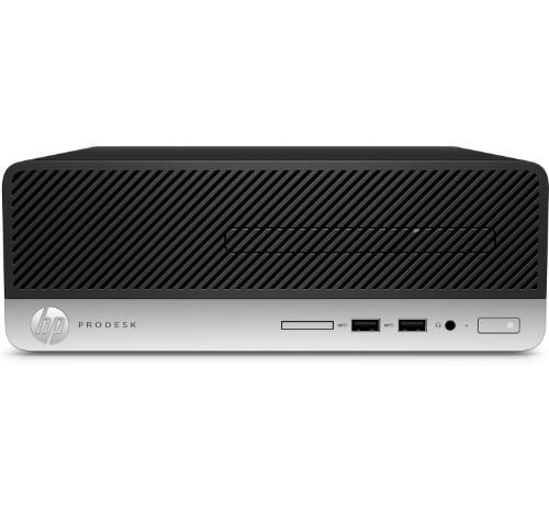 HP ProDesk 400 G6 i3-9100 SFF 9th gen Intel® Core™ i3 8 GB DDR4-SDRAM 128 GB SSD Windows 10 Pro PC Black