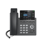 Grandstream Networks GRP2613 IP phone Black 6 lines TFT