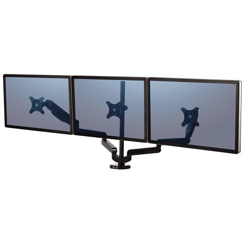 Fellowes 8042601 Clamp/Bolt-through Black flat panel desk mount