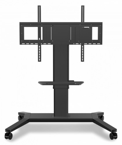 "Viewsonic VB-STND-002 flat panel floorstand 190.5 cm (75"") Portable flat panel floor stand Black"
