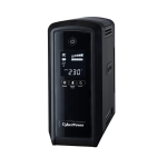 CyberPower CP900EPFCLCD-UK Line-Interactive 900VA 6AC outlet(s) Tower Black uninterruptible power supply (UPS)