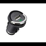 Microconnect USBCIGMINI Auto Black mobile device charger