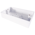 CONNEkT Gear 90-0106 outlet box accessory White 1 pc(s)