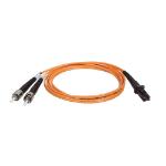 Tripp Lite Duplex Multimode 62.5/125 Fiber Patch Cable (MTRJ/ST), 1M (3-ft.)