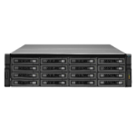 QNAP REXP-1620U-RP 64TB (Seagate Enterprise Capacity SAS) 16-Bay SAS 12G expansion unit for Enterprise Mo