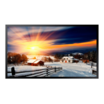 "Samsung OH46F 116.8 cm (46"") LCD Full HD Digital signage flat panel Black"