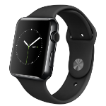 "Apple Watch 1.5"" OLED 50g Black smartwatch"