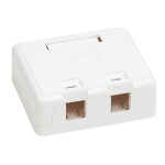 Tripp Lite N082-002-WH wall plate/switch cover White