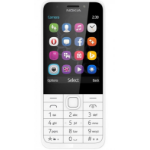 """Nokia 230 DS 7.11 cm (2.8"""") 92 g Silver,White Feature phone"""